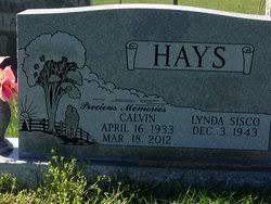Calvin Hays (1934-2012) - Find A Grave Memorial