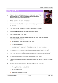 the kite runner essay questions robert cormier heroes essay to  robert cormier heroes essay to what extent are the characters in heroes essay questions heroes by the kite runner