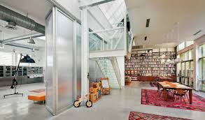 BWArchitectss Artist Loft Juxtaposes A Gritty Brooklyn Warehouse - Warehouse loft apartment exterior