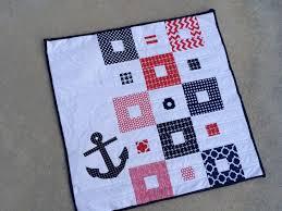 Nautical Mini Quilt Pattern & Giveaway & nautical mini quilt 7 Adamdwight.com