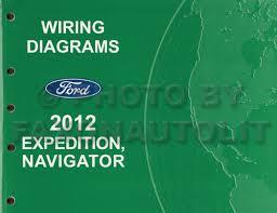 ford expedition lincoln navigator wiring diagram manual original