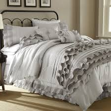bedroom interesing ruffle bedding furniture for fabulous bedroom king size ruffle comforter free