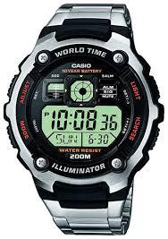 Наручные <b>часы Casio</b> Collection <b>AE</b>-<b>2000WD</b>-<b>1A</b> — купить в ...