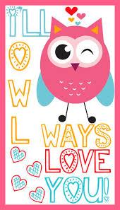 owl valentine s day cards to print. Fine Valentine Ill Owl Ways Love You Valentine On S Day Cards To Print I
