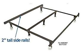 twin to king bed frame. Interesting Frame Metal Bed Frame  U0026quotMonsteru0026quot HEAVY DUTY Adjustable For In Twin To King M