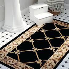 fleur de lis round area rugs black area rug fleur de lis aubusson area rugs black