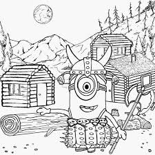 Minion Coloring Template Vampire Minion Coloring Pages Download And