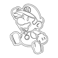 Free Mario Kart Face Coloring Pages Free Mario Coloring Pages