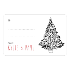Christmas Tree Labels Christmas Tree Gift Labels