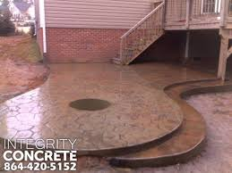 stamped concrete patio with fireplace. Stamped Concrete Patio With Fire Pit Traditional-patio Fireplace