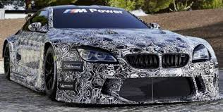 new car model release2016 BMW M6 GT3 will replace BMW Z4 GT3 and here are the pics