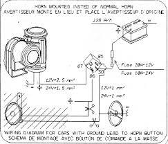 custom installation of motorcycle air horn Car Horn Relay Wiring Diagram Electrical Relay Wiring Diagram
