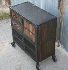 Industrial Bar Cabinet Combine 9 Industrial Furniture Modern Industrial Salon Workstation