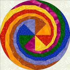 Color the World: Mandala Quilts & Magnificent spiral Mandala Quilts Adamdwight.com
