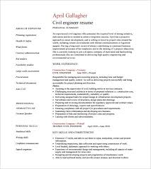 Civil Engineer Responsibilities Resume