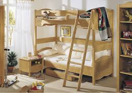 Kids bunk beds with shelves and under bed storage boxes, modern kids room  designs,