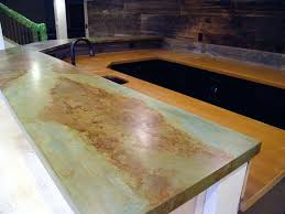 how to stain concrete countertops acid diy stained vs granite staining black