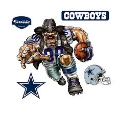 dallas cowboys crusher cowboy giant officially licensed nfl removable wall decal fathead wall decal