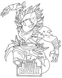 25 Fortnite Coloring Pages Black Knight