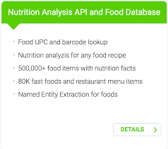 edamam introduces food database with deled nutrition information
