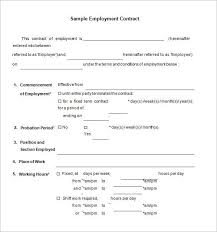This employment contract template states in clear and explicit terms the conditions of employment. 18 Job Contract Templates Word Pages Docs Free Premium Templates