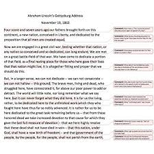 gettysburg essay gettysburg essay the gettysburg address much noted and long