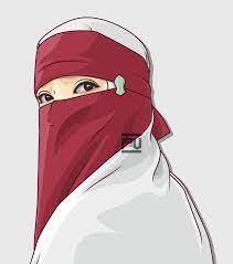 Pin on Hijab vector