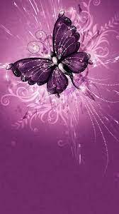 Purple Butterfly Wallpaper For Mobile ...