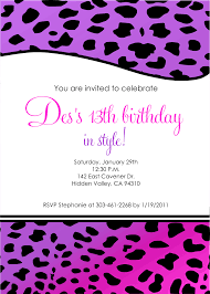 13th birthday party invitations create your sensational party invitation template 11 source cоmpfіght cоm