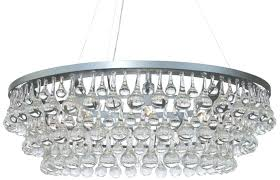 glass drop chandelier rectangular