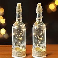 Decorative Wine Bottles With Lights Amazon BRIGHT ZEAL Set of 100 Decorative LED Bottle Lights with 23