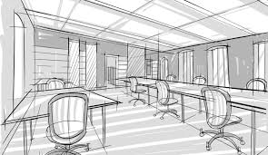 office space plan. ComSpaPlanGAL4 Office Space Plan