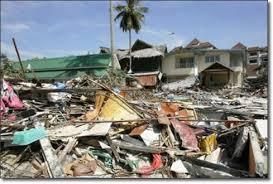 tsunami effects large destruction of property and loss of life tsunami destruction