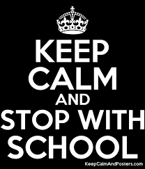 School Poster Maker Keep Calm And Stop With School Keep Calm And Posters Generator