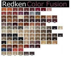 Redken Permanent Hair Color Chart Redken Hair Color Chart One Of The Worlds Manufacturers
