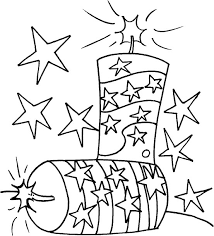 Small Picture 4th of July firecrackers Free Printable Coloring Pages