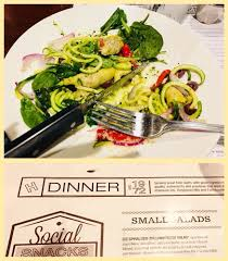 photo of houlihan s elkridge md united states zucchini pesto spinach