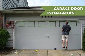 diy guide sectional garage door installation