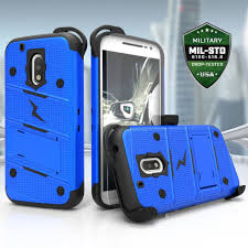 motorola g4. zizoŽ bolt cover for motorola g4 plus and moto - military grade with glass screen