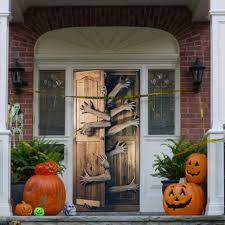 2020 NEW Halloween Creative 3d Door ...
