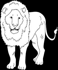 Small Picture Lion Coloring Page Free Clip Art