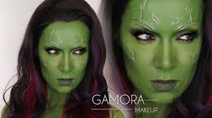 gamora guardians of the galaxy makeup tutorial shonagh scott gamora cosplay
