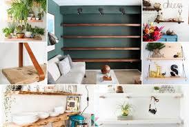 19 creative diy floating wall shelves