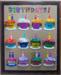 Birthdays Board Idea For Classes Preschool Birthday Board