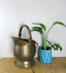 image 0 fireplace ash bucket ashes buckets vintage brass coal