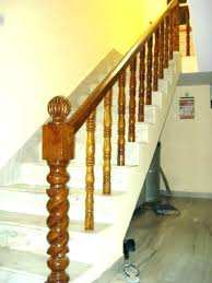 wooden staircase railing designs in kerala wooden railing designs for stairs modern wood railings for stairs