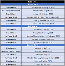 term dates the newbridge