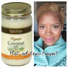 hot oil treatment with coconut oil