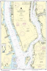 Noaa Navigation Charts Noaa Nautical Chart 12335 Hudson And East Rivers Governors Island To 67th Street