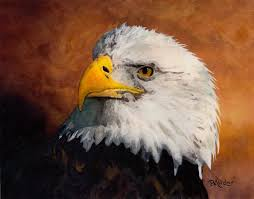 eagle painting stormy eagle by b ander